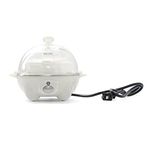 Dash Go Rapid Egg Cooker, White 2-Pack