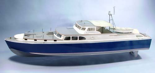 Dauntless Wooden Boat Kit by Dumas