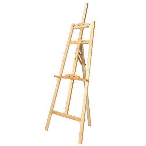 LIVINGbasics Art Easel Adjustable Floor Easel Wood for sale  Delivered anywhere in Canada