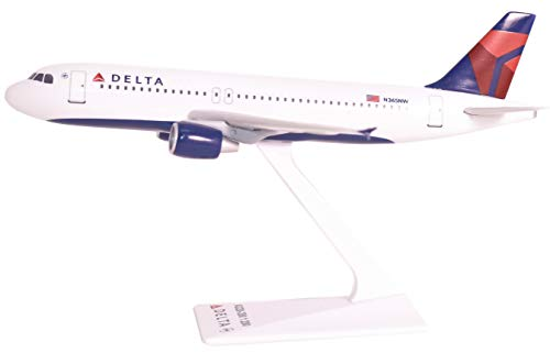 (Delta (07-Cur) A320-200 1:200Airplane Miniature Model Snap Fit 1:200 Part# AAB-32020H-063)