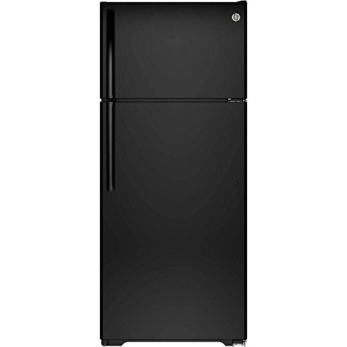 GE GTS18GTHBB 17.5 Cu. Ft. Black Top Freezer Refrigerator