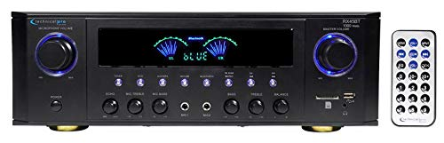 Technical Pro RX41BT Hybrid Professional Amplifier Receiver w/Bluetooth USB/SD