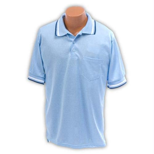 Athletic Connection Umpire Shirt AM in Light Blue (Large) by Athletic Connection