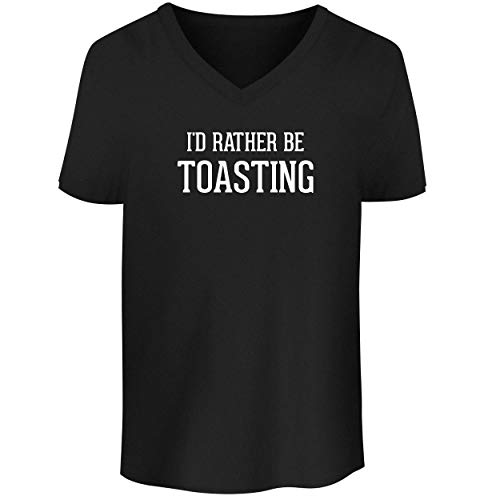 BH Cool Designs I'd Rather Be Toasting - Men's V Neck for sale  Delivered anywhere in USA