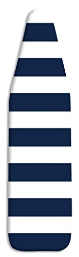 Whitmor Ironing Board Cover & Pad-Stripe, Navy