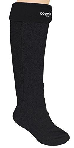 Capelli New York Fleece With Spandex Tall Rain Boot Liner (Large, (Capelli Fleece)