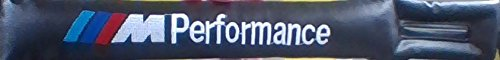 M Sport Logo Carbon Fiber Car styling Accessories Sealt Belt Shoulders Pad Truck Cover Pair Pack M3 M5 M6 X1 X3 X5 X6 E46 E39 E36 E60 E34 E90 E65 E70 E53 E87