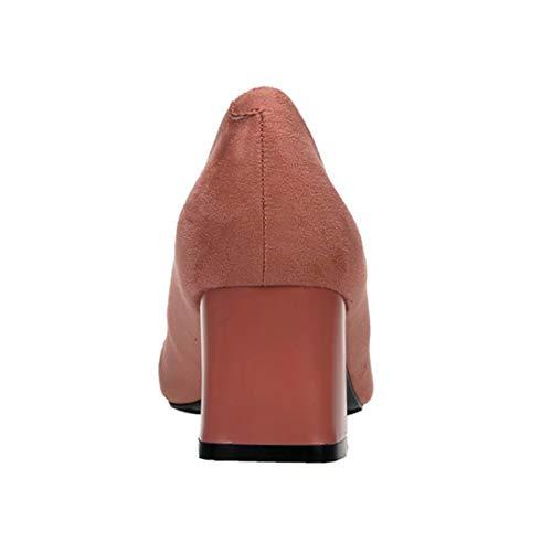 Zapatos Rosa De Qtgu0w1 Broche Con Tacón O0gwqZ