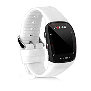 kwmobile Pulsera para Polar M400 / M430 - Brazalete de Silicona en Blanco sin Fitness Tracker