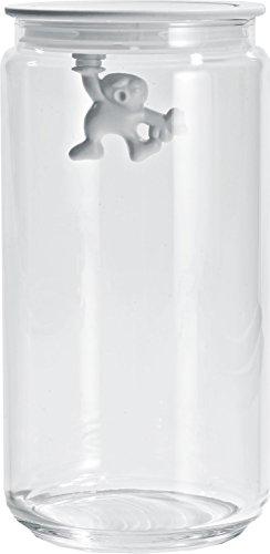 "Alessi AMDR06 W""""Gianni"" Glass Box, White"