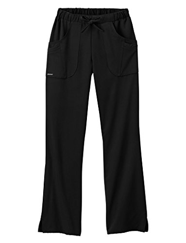 Classic Fit Collection by Jockey Women's Next Generation Elastic Drawstring Waist Scrub Pant XX-Large Black Elastic Drawstring Pants