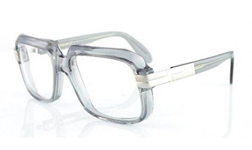 CAZAL607-005 Vintage Grey/Clear - Clear Cazal