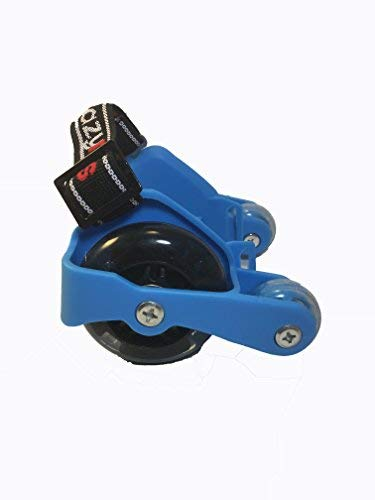 Eazy Rollers 4 Wheel Heel Skates for Сhildren and Beginners - Light up Wheels that Require no Battery