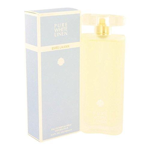Pure White Linen by Estee Lauder Eau De Parfum Spray 3.3 oz for Women - 100% (Estee White Pure Spray)