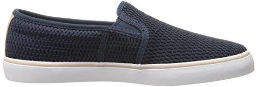 Lacoste Women's Gazon 217 1 Shoe, Navy, 7.5 M US