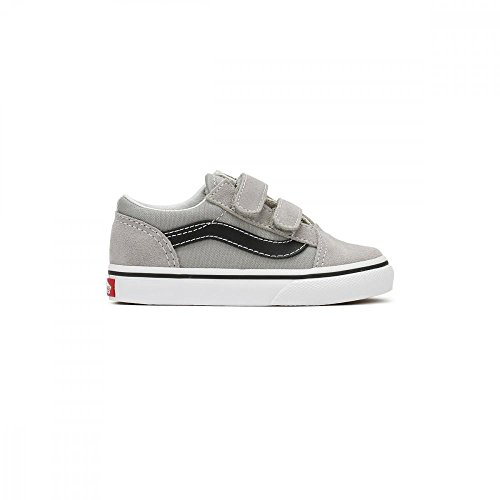 Vans Old Skool V, Zapatillas Unisex Bebé Drizzle/black