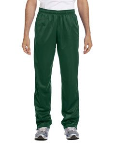 Harriton Mens Tricot Track (Harriton Men's Tricot Track Pants L Dark Green)