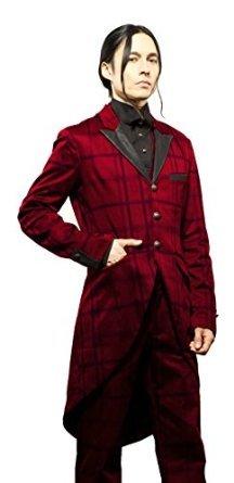 Tuxedo Gothic Victorian Steampunk Tail Coat