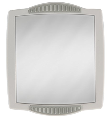 (Zadro Z Fogless Clip-on Shower Mirror, 4.5-Inch)