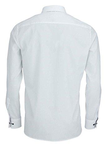 ETERNA Modern Fit Hemd extra kurzer Arm Oxford weiß AL 59