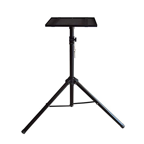 Bxsmy Projector Floor Stand, Tray Can Be Telescopically Lifted General Purpose Office A6 Projection Rack Mobile Portable Stand Universal Projector Floor Stand with Tray Telescopic Household ()