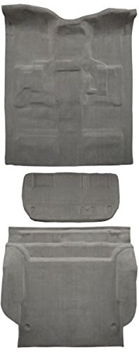 et Tahoe Carpet Custom Molded Replacement Kit, Complete Kit, 4 Door With 2nd Row Bench Seats (8078-Dark Grey Plush Cut Pile) ()