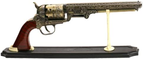 Premium Acrylic Antique /& Western Revolver Pistol Firearms Display Stand