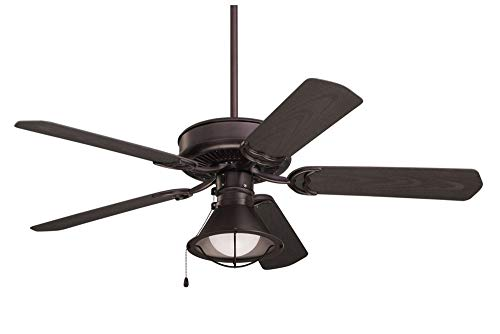 Emerson CF654ORB Sea Breeze 52-Inch Ceiling Fan with Weather Resistant Blades, Light Kit Adaptable, Oil Rubbed Bronze Finish from Emerson