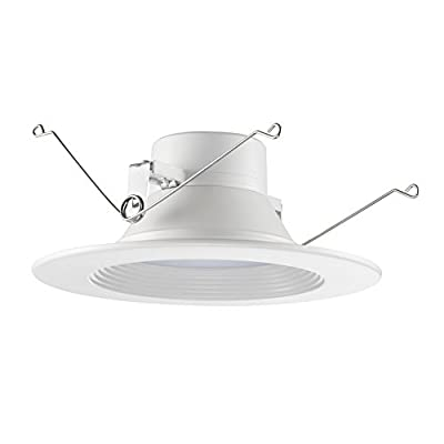 """15W 6"""" Ultra-Thin Recessed Ceiling Light with Junction Box"""