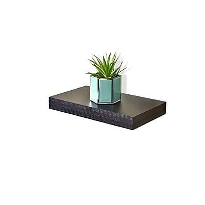 "WELLAND Mission Floating Wall Shelf (Espresso, 16"") -  - wall-shelves, living-room-furniture, living-room - 31wyDhAr8EL. SS400  -"