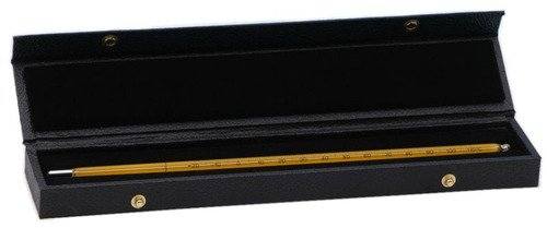 Thermco THERMOMETER CASES 18'' Leatherette, Felt-Lined Thermometer Case by THERMCO