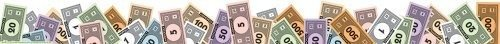Eureka Monopoly Money Deco Trim Extra Wide Die Cut (845151)