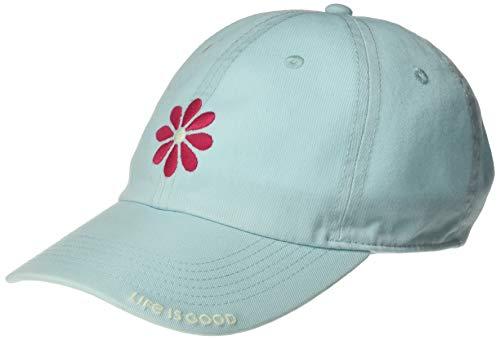 Life is Good Chill Cap Baseball Hat Collection,Daisy Petal,Beach Blue
