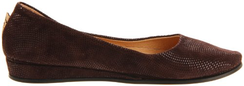Suola Francese Zeppa Slip On Shoes Onda Marrone