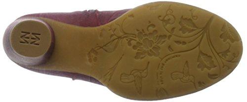 El Naturalista Donne N495 Ibon-lux Suede Rioja / Colibri Stivali Rosso (rioja Nrz)