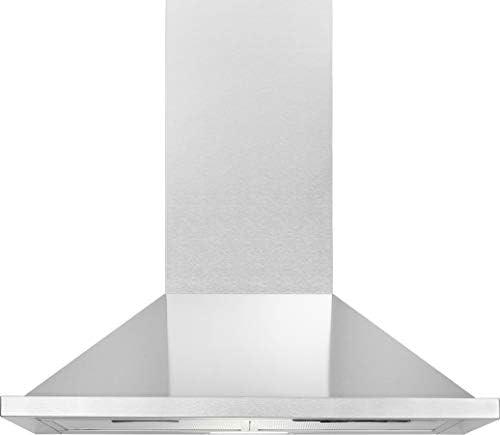 Bomann DU 652.1 IX - Campana extractora (eficiencia energética B, 60 cm, funcionamiento con recirculación o extracción, iluminación LED, 338,6 m3/h, acero inoxidable): Amazon.es: Grandes electrodomésticos