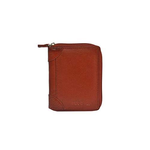Handmade Genuine Leather Men Business Credit Card Holder Wallet