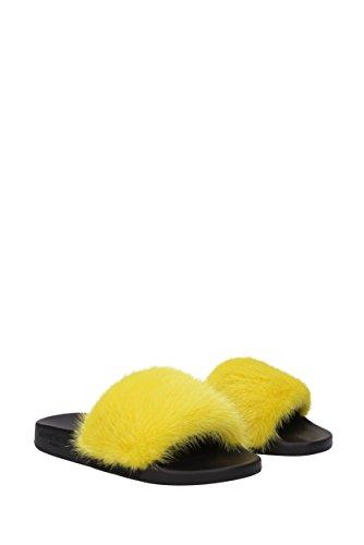 Givenchy donna Pantofole giallo nero per UfnvOq8Tn