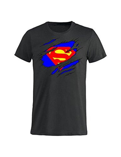 Superman T M Idea Grigia Nera Donna Bambino Gr100 Animati Clark Cartoni Uomo Tuttoinunclick Regalo shirt Kent x0gw6dqwnU