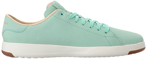 Cole Haan Women's Grandpro Tennis Leather Lace Ox Fashion Sneaker Beach Glass sale for sale clearance shop for free shipping footlocker deals sale online pick a best 1oGRWhS