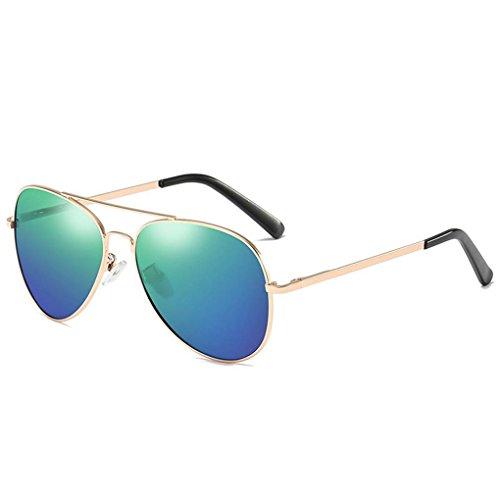 4 conducción protección de polarizadas Marco Coolsir de Gafas Mujeres unisex lentes metal del Hombres las UV400 gafas sol nqORRYx6Tw