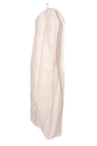 Transpirable funda para vestido de novia, ropa, extra long 183cm, con cremallera