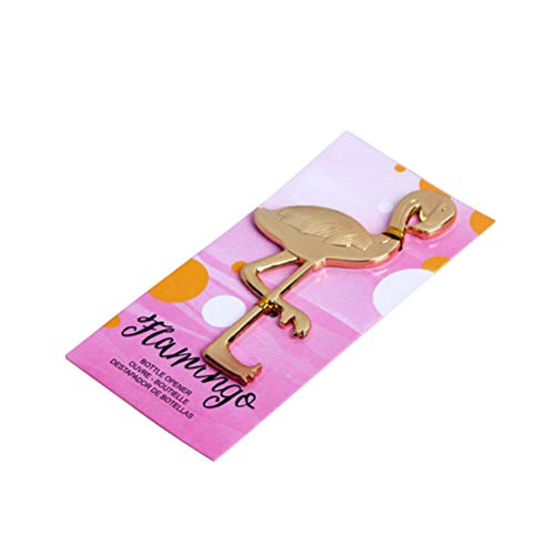 "Cheap 20pcs""Fancy and Feathered"" Flamingo Bottle Opener For Wedding Party Favor Gift"