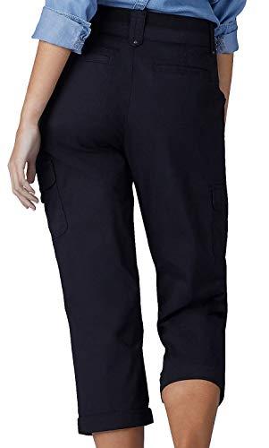 4f21c9d58c0b LEE Women s Petite Relaxed Fit Nikki Knit Waist Cargo Capri Pant ...