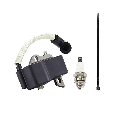 545108101 Ignition Coil with Spark Plug for Husqvarna 125B 1