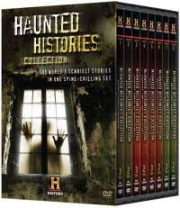 Haunted Histories 20 Episode Collection :Hauntings / The Haunted History of Halloween / Poltergeist /Salem Witch Trials / Vampire Secrets /Haunted Houses / More Haunted Houses: Tortured Souls and Restless Spirits / Zombies /Voodoo Rituals / In Search of the Real Frankenstein /Bloodlines: The Dracula Family Tree / Exorcism: Driving Out the Devil / Witch Hunt / Exorcising the Devil / Voodoo Secrets / Haunted Tombstone / Haunted Washington D.C. / Haunted Savannah /Haunted Hawaii / Haunted Chicago : Box Set 18 & 1/2 Hours -