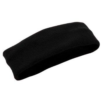 Augusta Chill Fleece - Augusta Sportswear Chill Fleece Headband Earband, BLACK, One Size