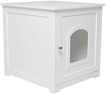 zoovilla Kitty Litter Loo - Hidden Litter Box Furniture 10.10″D x