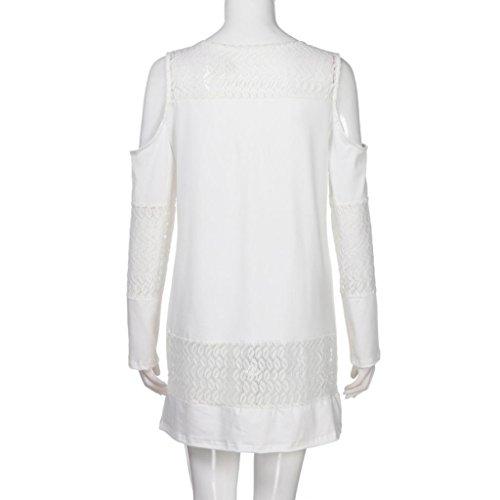 [S-2XL] レディース Tシャツ バタフライレース ストラップレス 長袖 トップス おしゃれ ゆったり カジュアル 人気 高品質 快適 薄手 ホット製品 通勤 通学