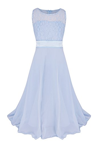 light blue ball gown - 8
